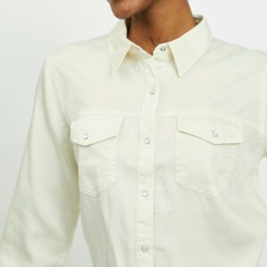 Vibista Denim Shirt Noos Birch