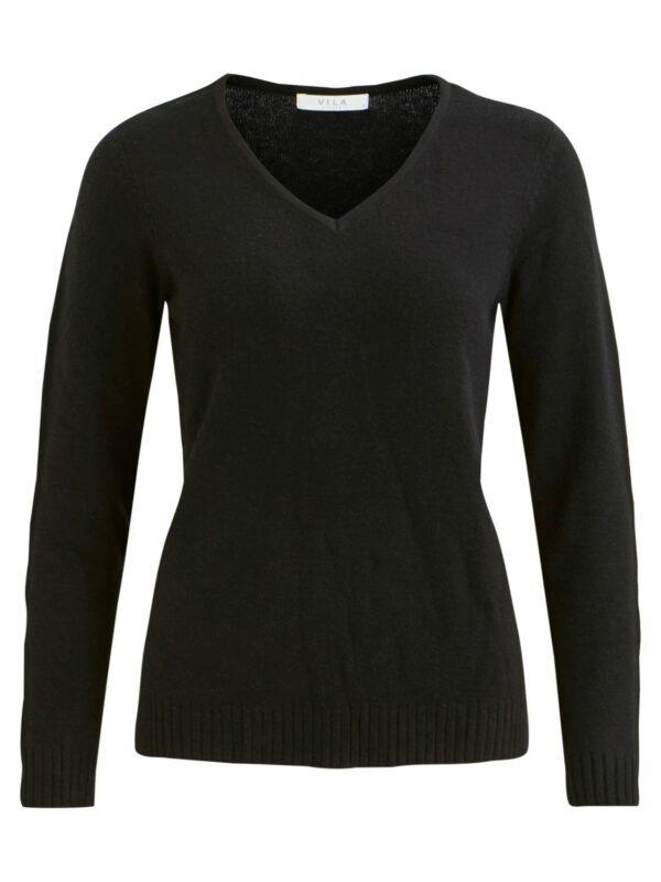 Viril V-neck knit NOOS Black
