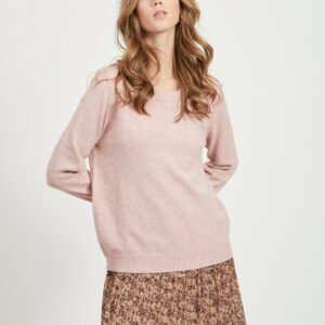 Viril O-neck Pale Mauve