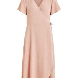 Vilovie wrap dress rose