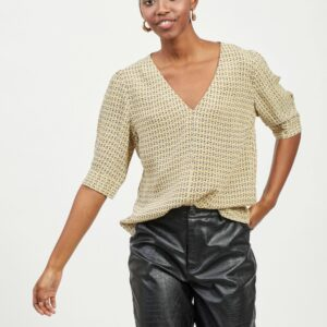 ViEmora V-neck top