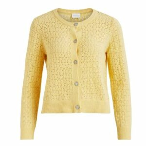 ViAlassa Pointelle knit cardigan