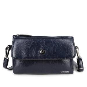 3-Vaks schoudertasje Zwart