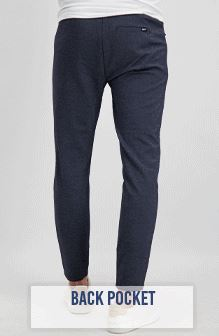 Grope Sweat Trouser Navy