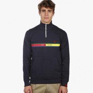 sweater velo tourist zip