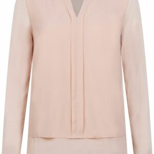 Chiffon Top Jersey Mix Peach