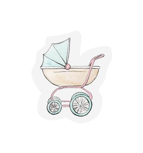 Buggy Cut Out Card