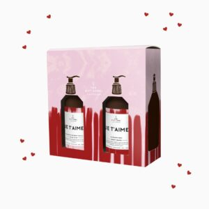 Je T'Aime gift set - Body Wash & Hand Soap