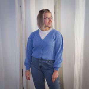 Cardigan Kosto Blue