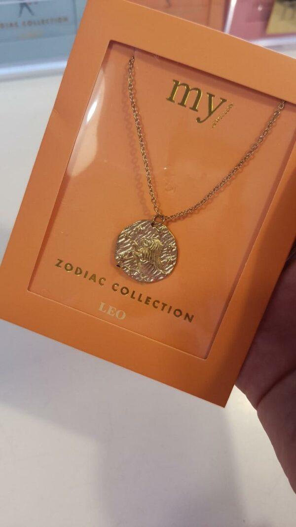 Zodiac Ketting - Leeuw Goud