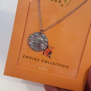Zodiac Ketting - Leeuw Zilver