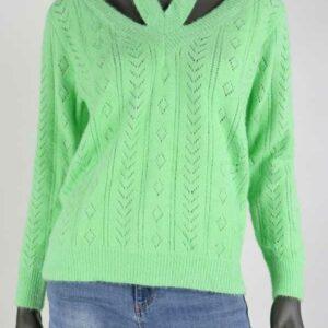 Knit Lisa Pistache Groen