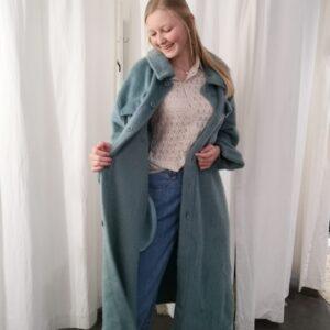 long jacket mint