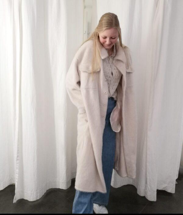 long jacket wit one size