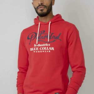Hooded Sweater Imperial Red