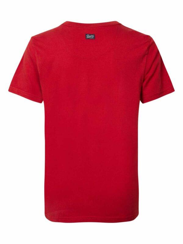 T-shirt R-neck Fire Red