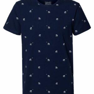 T-shirt R-neck Palmtrees