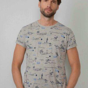 TT-shirt ss R-neck Light Grey