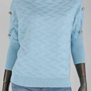 Knit Olivia Licht Blauw