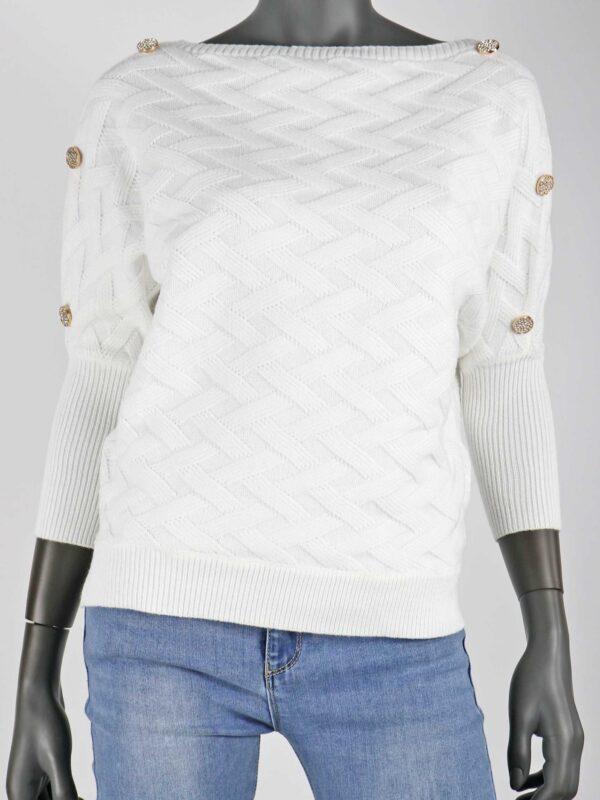 Knit Olivia Wit