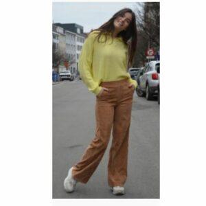 Charro Rib Pants Camel