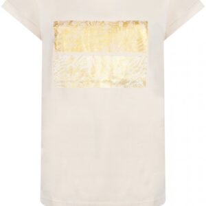 T-shirt Foil Artwork Champagne
