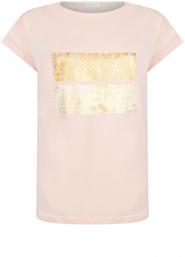 T-shirt Foil Artwork Peach