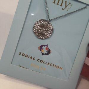 Zodiac Ketting - Vissen Zilver
