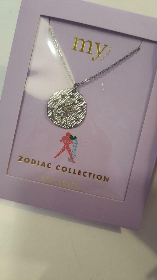 Zodiac Ketting - Waterman Zilver