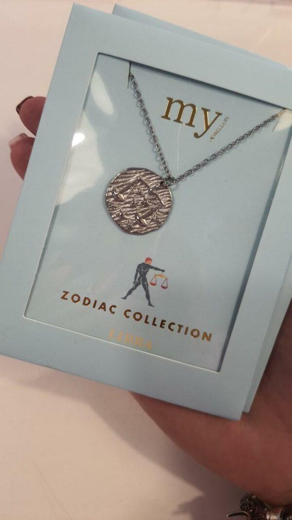 Zodiac Ketting - Weegschaal Zilver