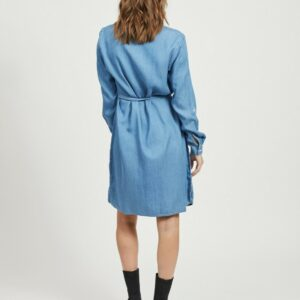 ViBista Denim Belt Dress