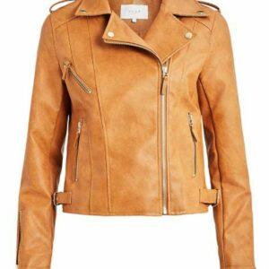ViMiccas Coated Biker Jacket