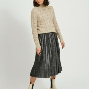 ViNitban Skirt Print Forest Night