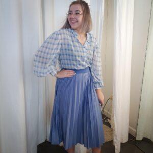 ViNitban Skirt Colony Blue