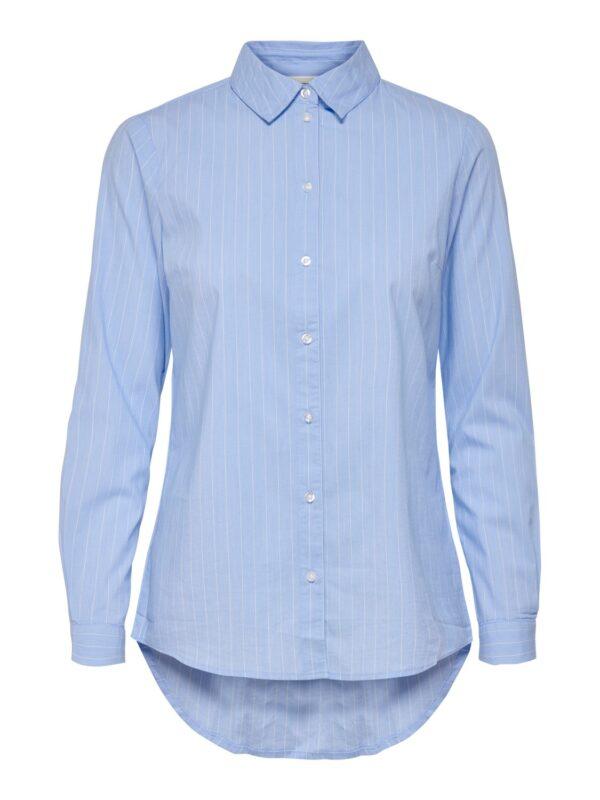JdyMio Basic Blouse blue white stripes