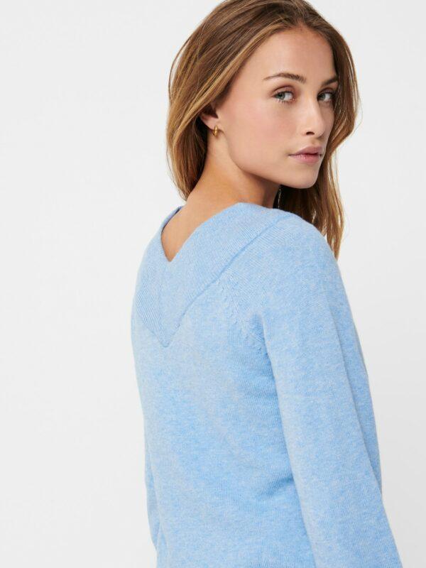 JdyShanon Off shoulder Lichen Blue