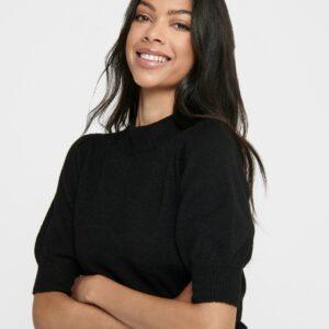 Jdyrue 2/4 pullover Black