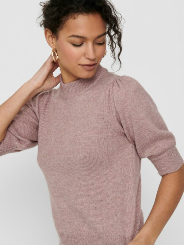 Jdyrue 2/4 pullover Woodrose