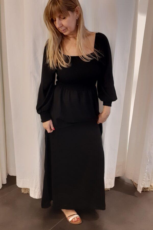 jdymina smock dress black