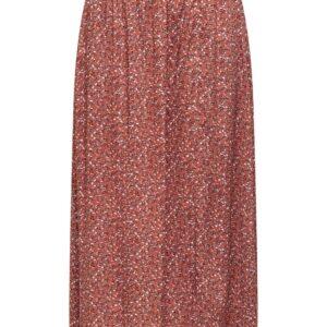 JdyStaar Above Calf Skirt Etruscan Red