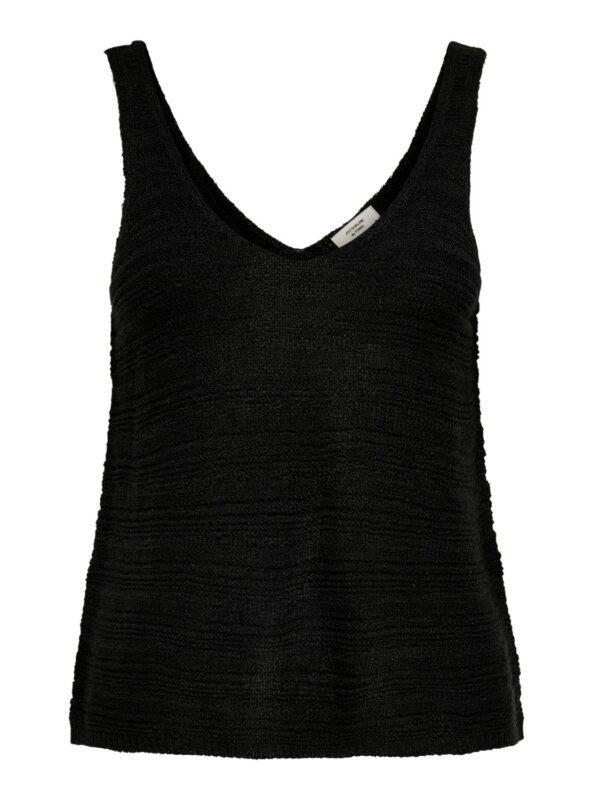 jdyrebecca top knit black