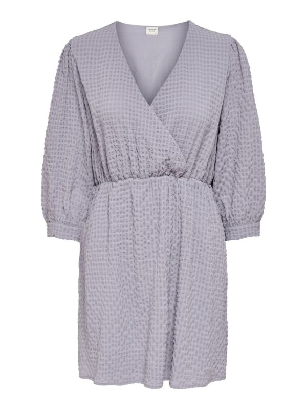 jdyphoebe wrap dress lavender