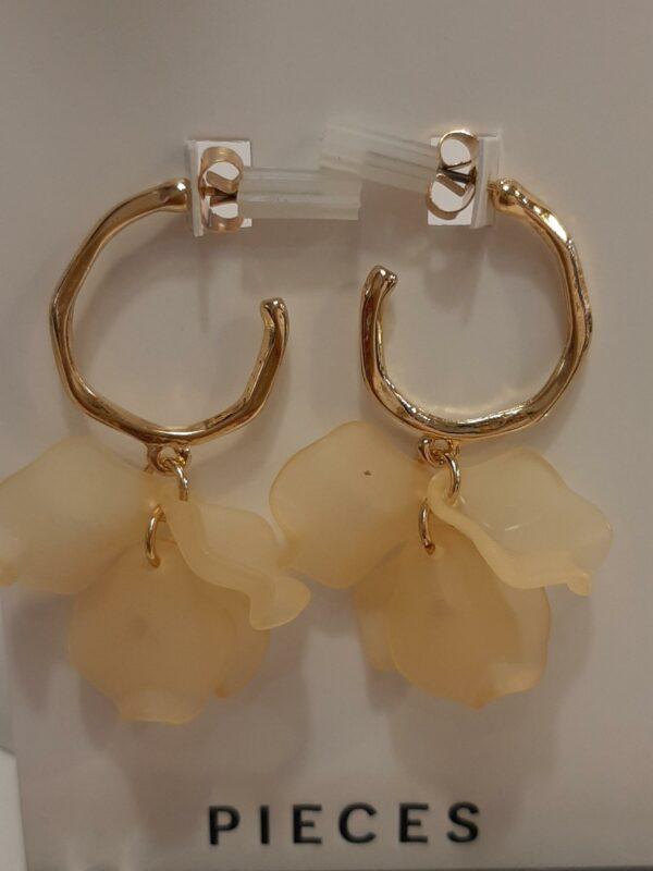pcllettie creol earrings almond