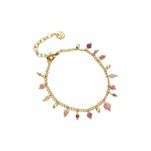 Armband cap d'antibes roze