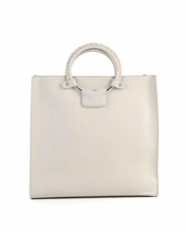 Handtas met schoudertasje (2 kleuren)