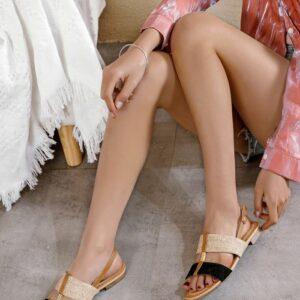 Alexia sandaal zwart