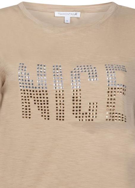 T-shirt Strass Nice