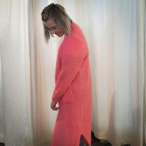 Long Cardigan Pink