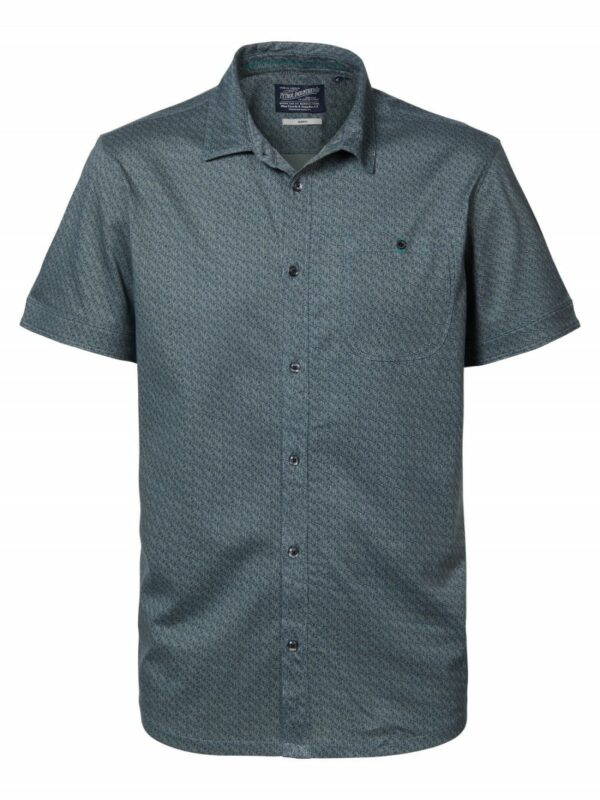 Shirt Short Sleeve Hedge Green