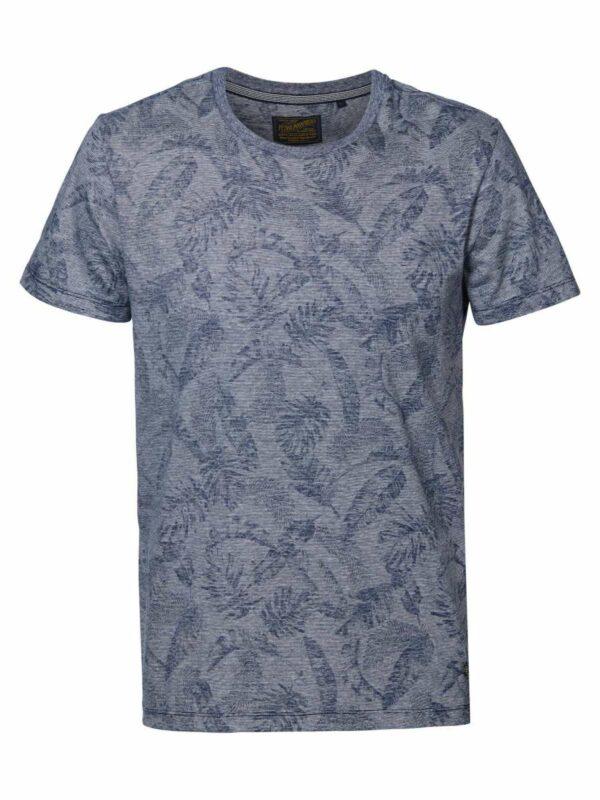 T-shirt ss R-neck Dark Petrol